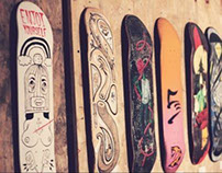 B-familiar | PLANK | A Skate Deck Exhibition