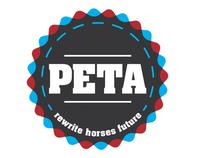 PETA horse