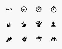 Nike+ Iconography