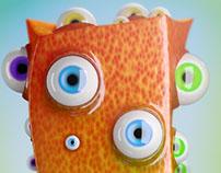 Billy the Multi Eyed Cuboid