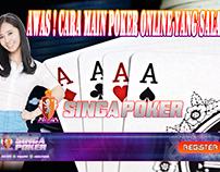 Awas ! Cara Main Poker Online Yang Salah