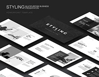 Styling Minimal PowerPoint Template