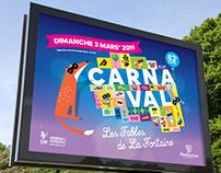 MAIRIE DE NARBONNE : Affiche Carnaval 2019