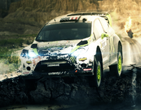 Ken Block - Earthquake Rally (Manipulation)