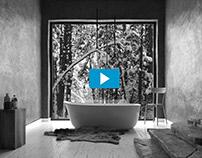 CG Project Animation// Winter bathroom