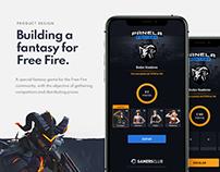 Panela Fantasy eSport Free Fire Game