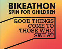 POSTER | Bikeathon - Spin for Children