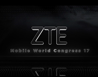 "Visuales para ZTE en ""Mobile World Congress 2017"""
