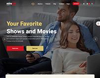 Internet Provider and Satellite TV WordPress Theme