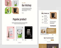Food product website