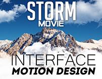 Interface motion design