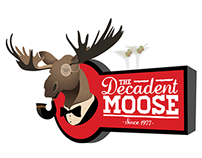 The Decadent Moose Logo