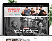 Web/Mobile Design Blog Perros de la Calle
