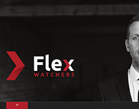 Logo and Corporate identity for Flex watchers