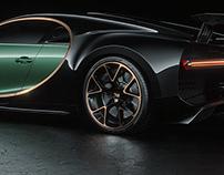 Bugatti Chiron Studio CGI