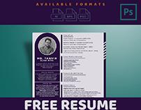 Resume PSD Download