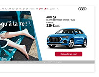 Animation commerciale Audi