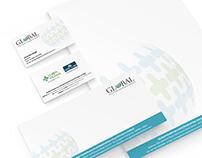 GHMS Logo Branding Business card Letterhead Graphic