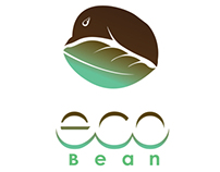 """Ecobean"" Logo, Magazine Ads, Packaging, & Website"
