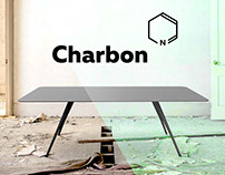 Exclusive carbon table - Charbon -