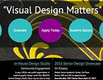 CCSU Graphic Design Department - redesign