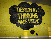 Saul Bass Quote Poster