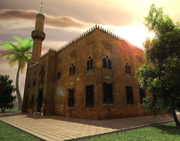 Kekhia Mosque (low poly)
