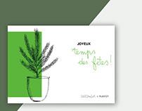 plantzy / christmas cards