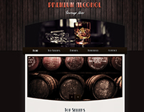 Alcoholic drinks Store Design