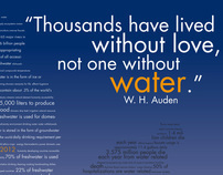 Intermediate Graphic Design: World Water Day 2012