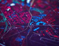 Map of Urban Development of Bratislava