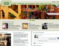 Novo site Shopping Città-América