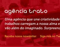 Novo site da Agência Trato