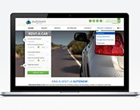 Autonom Website Redesign
