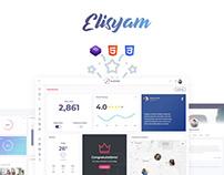 Elisyam - Web App & Admin Dashboard Template