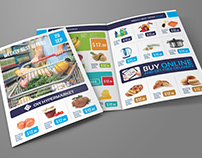 Supermarket Products Catalog Bi-Fold Brochure Vol.5