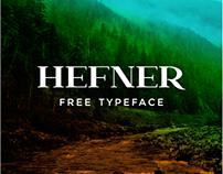 Hefner - free typeface