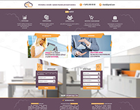 "Design of website for company ""1C Cloud"""