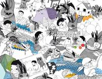 hirschhuhnhase und badewannenpirat (childrens book)