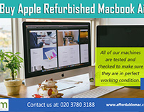 Buy Apple Refurbished Macbook Air