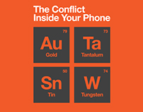 The Conflict Inside Your Phone inforgraphic