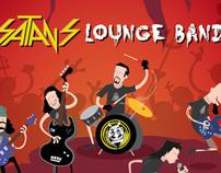Satan's Lounge Band Poster
