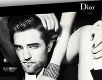 Dior Homme Parfum - onepage website
