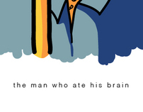 The man who ate his brain