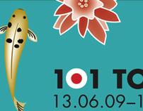 101 Tokyo Japanes exhibition Identity design
