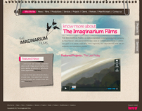 The Imaginaruim Films Website designs