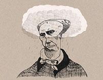 Portrait de Baudelaire