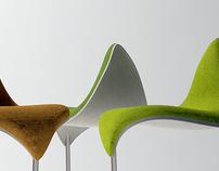The Leaf bar stool