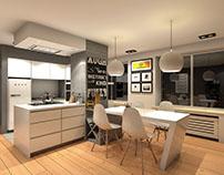 Modern Kitchen | New Renovation 3D Project @Epigraph