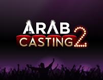 Arab Casting 2 - Landing page